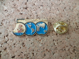 PIN'S  CHRISTOPHE COLLOMB  BATEAU - Badges