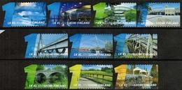 2014 Finland, Bridges, Complete Used Set. - Finnland