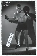 BOXE - Jean BEY Du Team A. Lepesant - Photo 13.7 X 9 Cm - Boxing