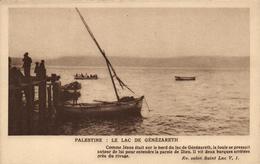 1 Cpa Palestine - Le Lac De Génézareth - Palestine