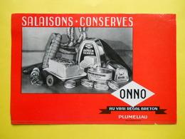 Buvard , Morbihan ,conserves ,Salaisons ,ONNO - Alimentaire