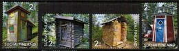 2013 Finland, Prettiest Outhouses, Complete Used Set. - Finnland