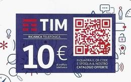 *ITALIA - TIM: QR CODE (TIM2c-10-C) - Ago.2020* - Ricarica Usata - Italia