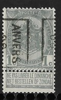 Antwerpen1906  Nr. 746B - Precancels