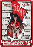 @@@ MAGNET - S.D.A.P. Regeerings-Program Colijn & Co. - Publicitaires