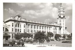 POSTAL    SAO PAULO  - BRASIL  - ESTAÇAO E.F. SOROCABANA - São Paulo