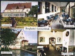 DA463 VORMWALD BEI SCHOLLKRIPPEN , BERGHOTEL SONNENBLICK - Germania