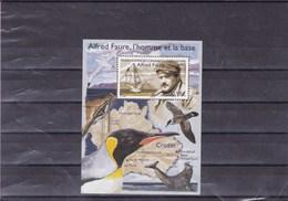 TAAF : Alfred Faure L'homme Et La Base : Y&T : BF  ** - Blocs-feuillets