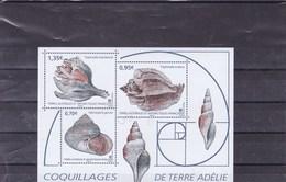 TAAF :  Coquillages En Terre Adélie : Y&T : BF  ** - Blocs-feuillets