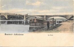 Souvenir D'Andenne NA16: Le Pont ( Péniche ) - Andenne