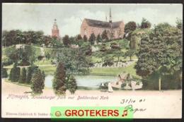 NIJMEGEN Kronenburgerpark Met Doddendaalkerk  1901           Vrouw Met Kinderwagen - Nijmegen