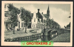 SLOTEN Diep Met Gemeentehuis En NH Kerk Ca 1920 ? - Netherlands