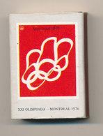 XXI OLIMPIADA MONTREAL - Boites D'allumettes