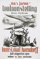 @@@ MAGNET - Tentoonstelling Na 5 Jaren Hamdorff Laren - Publicitaires