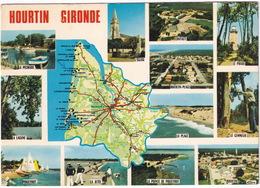Hourtin Gironde - D'après Carte Michelin  No. 989 - (France) - Lesparre Medoc