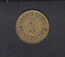 Verein Ceres Heusenstamm 1 Mark - Notgeld