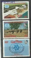 Gambia 1981 Mi 418-420 MNH ( ZS5 GMB418-420 ) - Archaeology