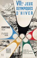 @@@ MAGNET - VII-es Jeux Olympiques D'Hiver Cortina - Publicitaires