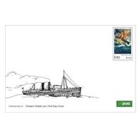 Ierland / Ireland - Postfris/MNH - FDC RMS Leinster 2018 - 1949-... Republiek Ierland