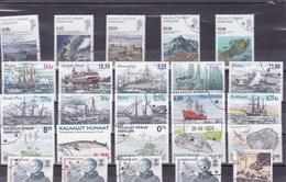 GROENLAND : Y&T : Lot De 25 Timbres Oblitérés - Groenland