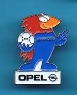 1 PIN'S //    ** FOOTIX / MASCOTTE DE FRANCE '98 / SPONSOR // OPEL ** . (© 1995 ISL™) - Opel