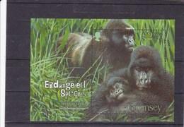 GUERNESEY : Le Gorille De Montagne :  Y&T : BF 62 ** - Guernsey