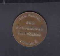 Romania Telephone Jeton Societatea Anonoma Romana De Telefoane - Entriegelungschips Und Medaillen