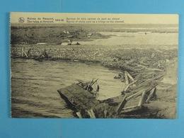 Ruines De Nieuport 1914-18 Barrage De Sacs Servant De Pont Au Chenal - Nieuwpoort
