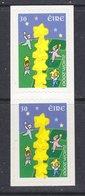 Europa Cept 2000 Ireland 1v (pair) Folienstreifen (self Adhesive Stamps)   ** Mnh (41669J) - Europa-CEPT