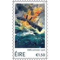 Ierland / Ireland - Postfris/MNH - RMS Leinster 2018 - 1949-... Republiek Ierland
