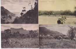 Deutsch-Ost-Afrika - Lot De 4 Cartes - Usambara-Gebirge - Mbasi - Tanzanie
