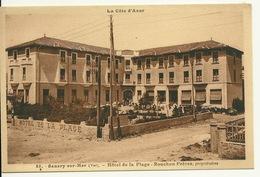 83 - SANARY SUR MER / HOTEL DE LA PLAGE - ROUCHON FRERES - Sanary-sur-Mer