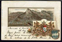 """ALLEMAGNE - 1900 - Affranchissement à 10 Pf Sur Belle Carte """"Oberammergau"""" Correspondance Pour Bouillon (Bel) B/TB - - Bavière"""