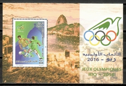 Algeria 2016 Argelia / Olympic Games Rio De Janeiro Football MNH Juegos Olímpicos Fútbol Olympische Spiele / Cu10818  40 - Verano 2016: Rio De Janeiro