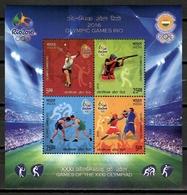 India 2016 / Olympic Games Rio De Janeiro MNH Juegos Olímpicos Olympische Spiele / Cu10821  40 - Verano 2016: Rio De Janeiro