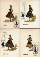 Spanien Espana Spain - Trachten 1967 (12) - MiNr 1662-1664, 1681, 1689-1691, 1707, 1709, 1719,1723,1733 - Kostüme