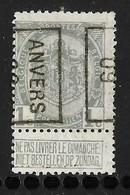 Antwerpen 1909 Nr. 1291B - Precancels