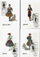 Spanien Espana Spain - Trachten 1968 (12) - MiNr 1734, 1738-1739, 1754, 1758-1759, 1764, 1775-1776, 1781, 1787, 1792 - Kostüme