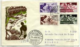 Guinea Española Nº 334/37 En Sobre - Guinea Española