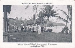 Archipel Des Fidji Missions Des Pères Maristes En Océanie L Ile Des Lépreux Makogai Soeurs En Tournée De Pansements - Fidji