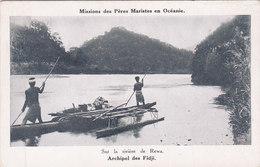 Archipel Des Fidji Missions Des Pères Maristes En Océanie Sur La Rivière De Rewa - Fidji