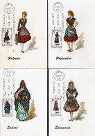 Spanien Espana Spain - Trachten 1970 (12) - MiNr 1844-1845, 1848, 1859, 1862, 1865, 1871, 1878, 1881, 1888, 1901-1902 - Kostüme