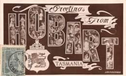 Tasmanie / 01 - Greetings From Hobart - Cartes Postales