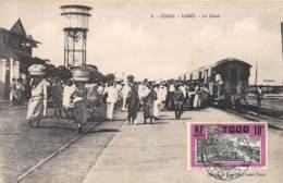 Togo - Topo / 05 - Lomé - La Gare - Belle Oblitération - Togo