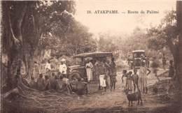 Togo - Topo / 07 - Atakpamé - Route De Palimé - Togo