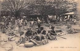 Togo - Topo / 11 - Lomé - Le Marché Au Bois - Togo