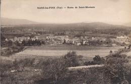 CPA - France - (83) Var - Nans-les-Pins - Route De Saint-Maximin - Nans-les-Pins