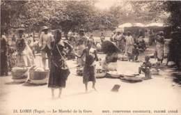 Togo - Topo / 15 - Lomé - Le Marché De La Gare - Togo