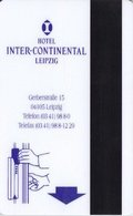 GERMANIA KEY HOTEL Inter-Continental Leipzig - Messe Und Mehr! - Hotel Keycards
