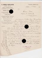 Chênée  Orval Gerlache 1914 Vers Pierre Dozot Entrepreneur à Cerexhe Heuseux Pour Ouvriers Mauvais Payeurs - Belgique